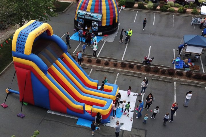 20′ Dual Lane Bounce Slide