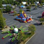 Midway Amusement Park Obstacle Course