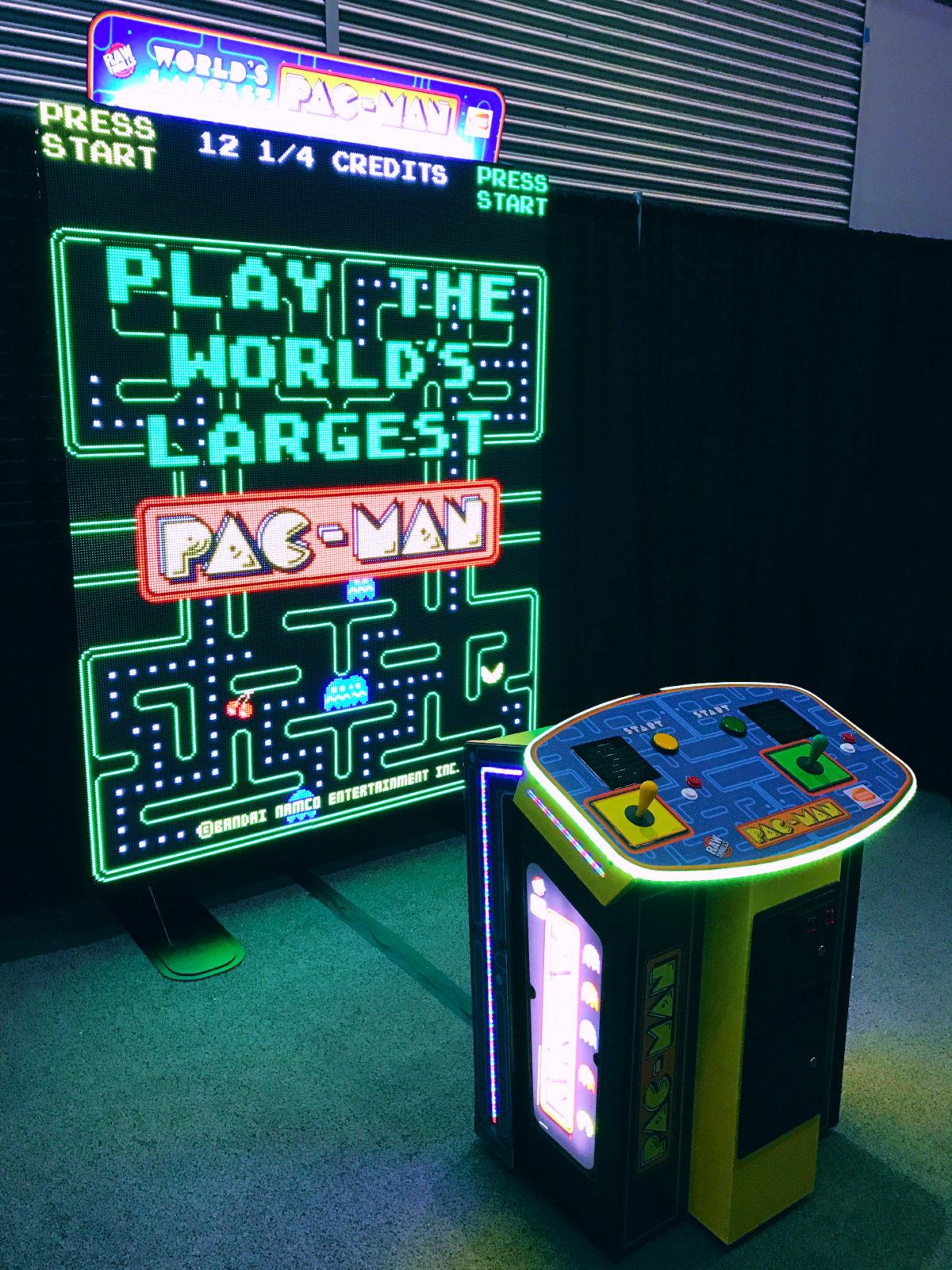 World's Largest Pac-Man arcade game rental