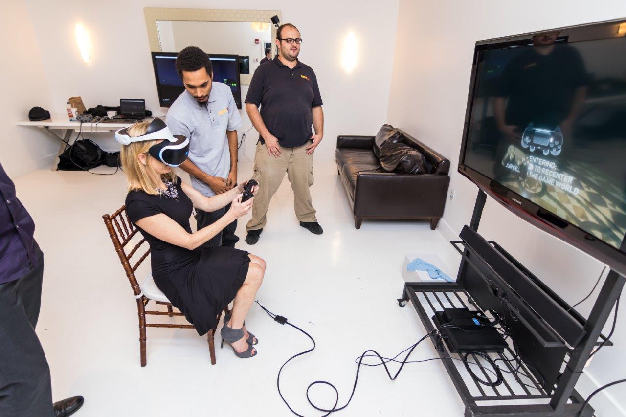 VR equipment rental in Seattle