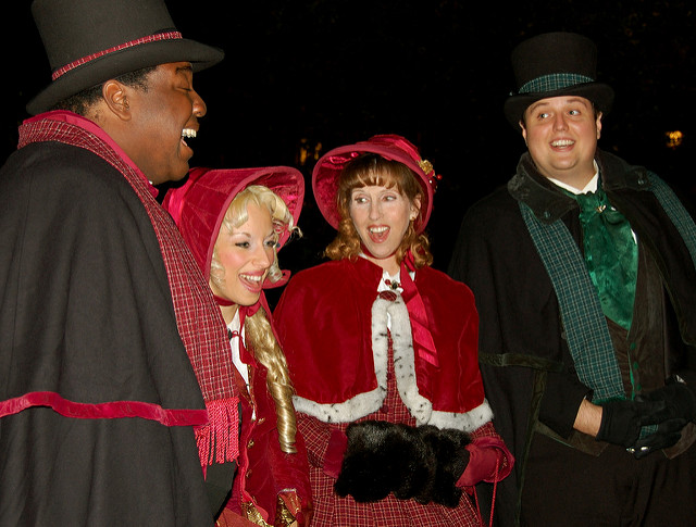 Christmas carolers for hire