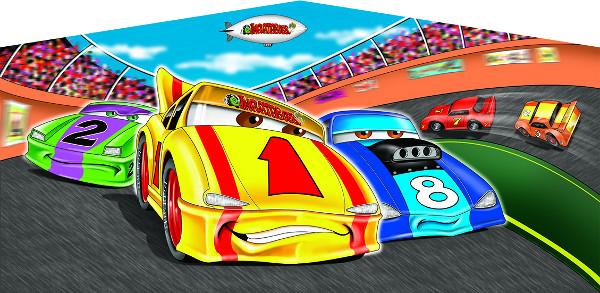 Racing Cars Banner