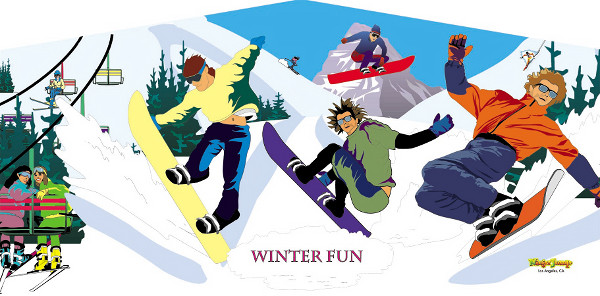 Winter Fun Banner