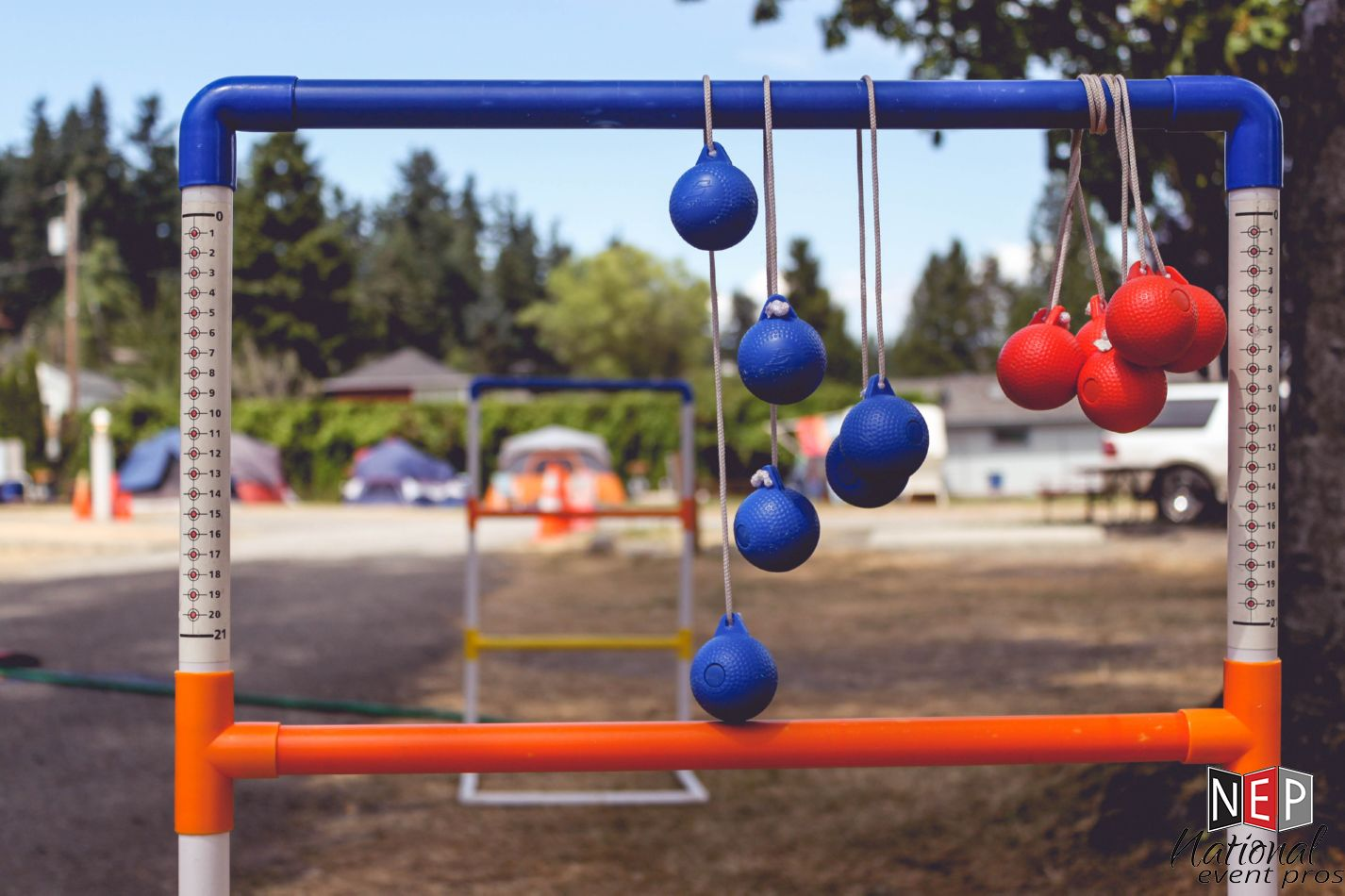 Wondrous Ladder Ball Toss Lawn Game Rental National Event Pros Ncnpc Chair Design For Home Ncnpcorg