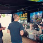"""Sprinter Van"" Video Game Theater"