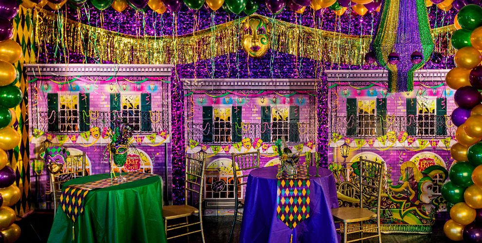 Mardis Gras Party Decorations