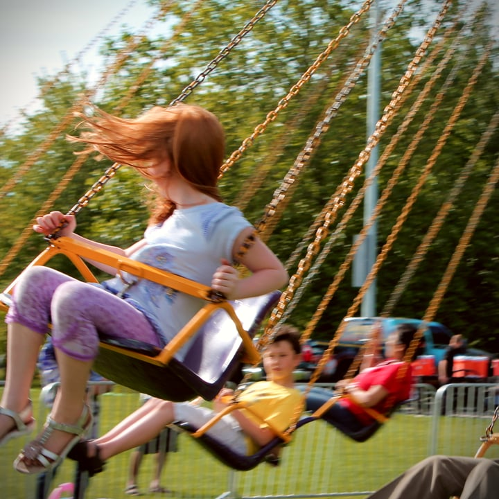 ballistic swing ride rental