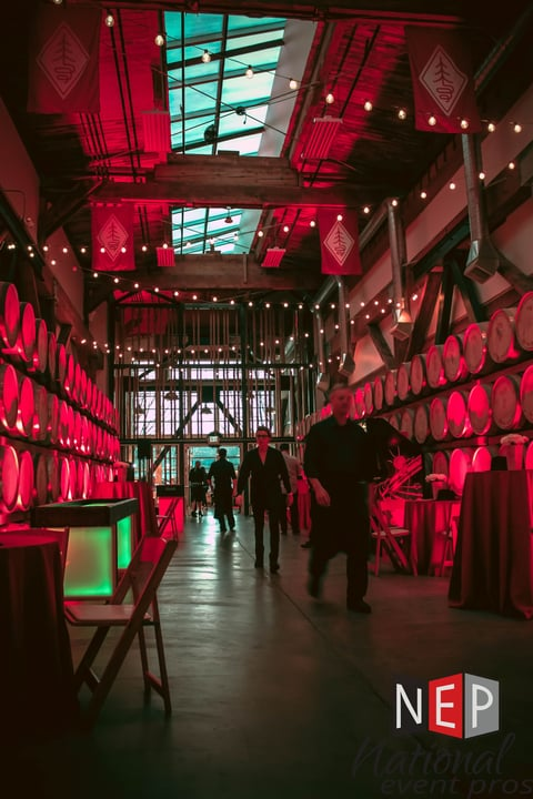 portland holiday event decor