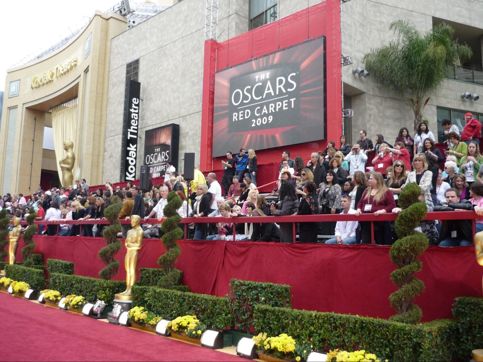 The Oscars Red Carpet 2009
