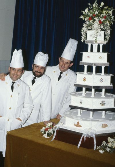 Diana and Prince Charles Royal Wedding Cake