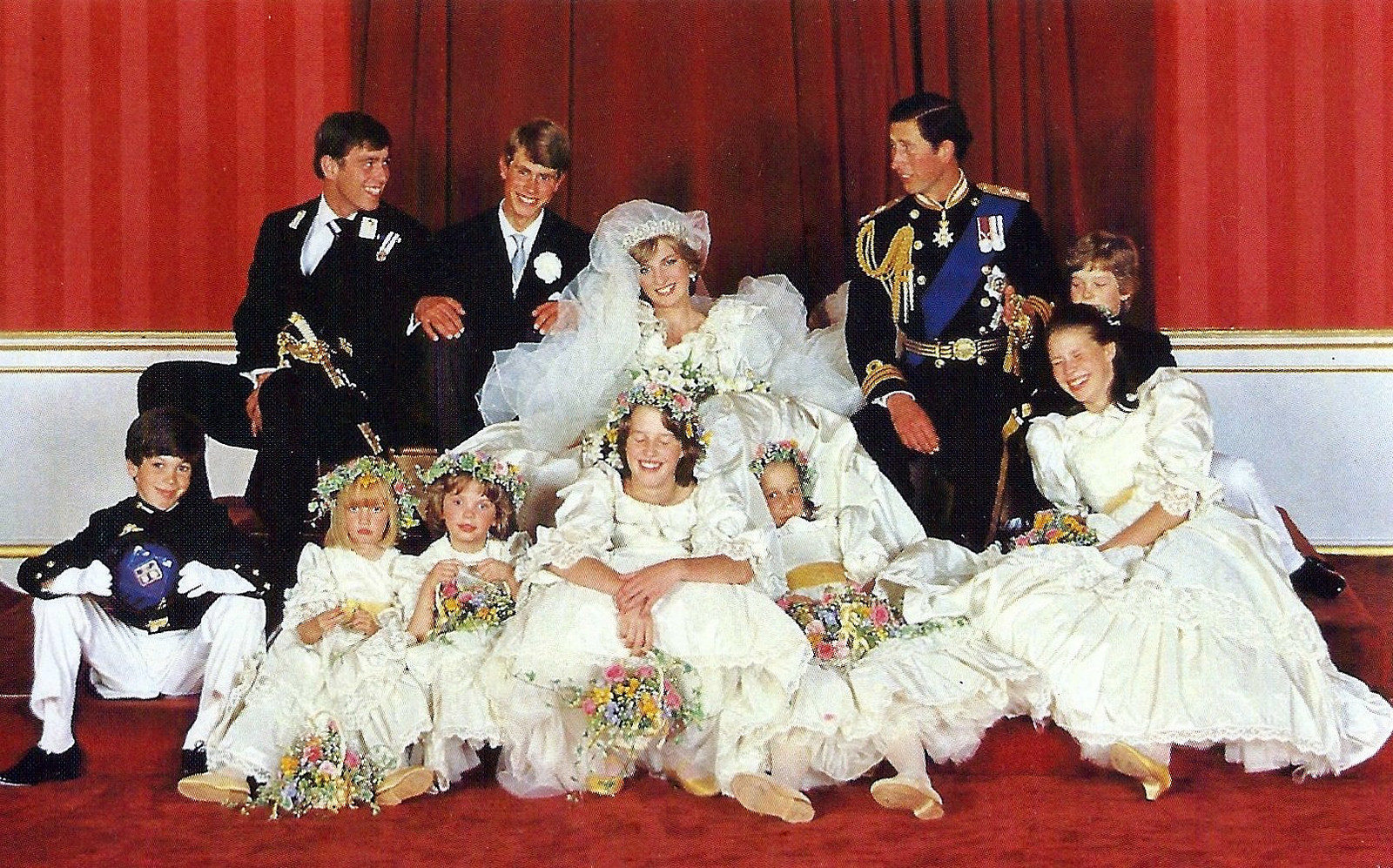 Diana Spencer's Wedding to Prince Charles