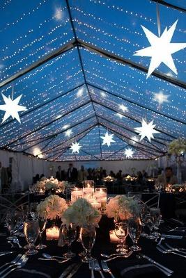 starry night sky tent ceiling decoration