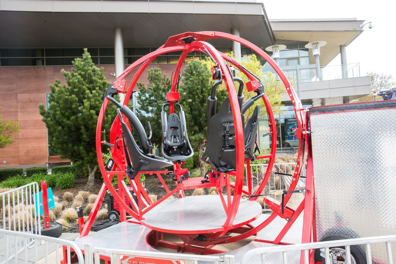 Rentable Human Gyroscope Ride