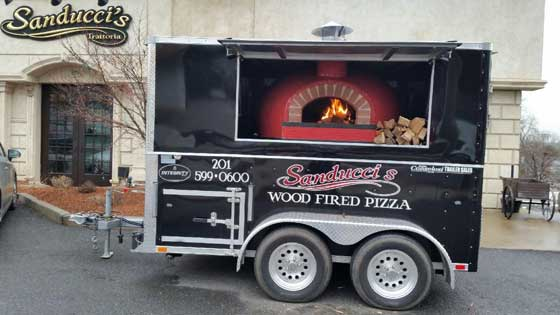 wood-fired pizza oven rental