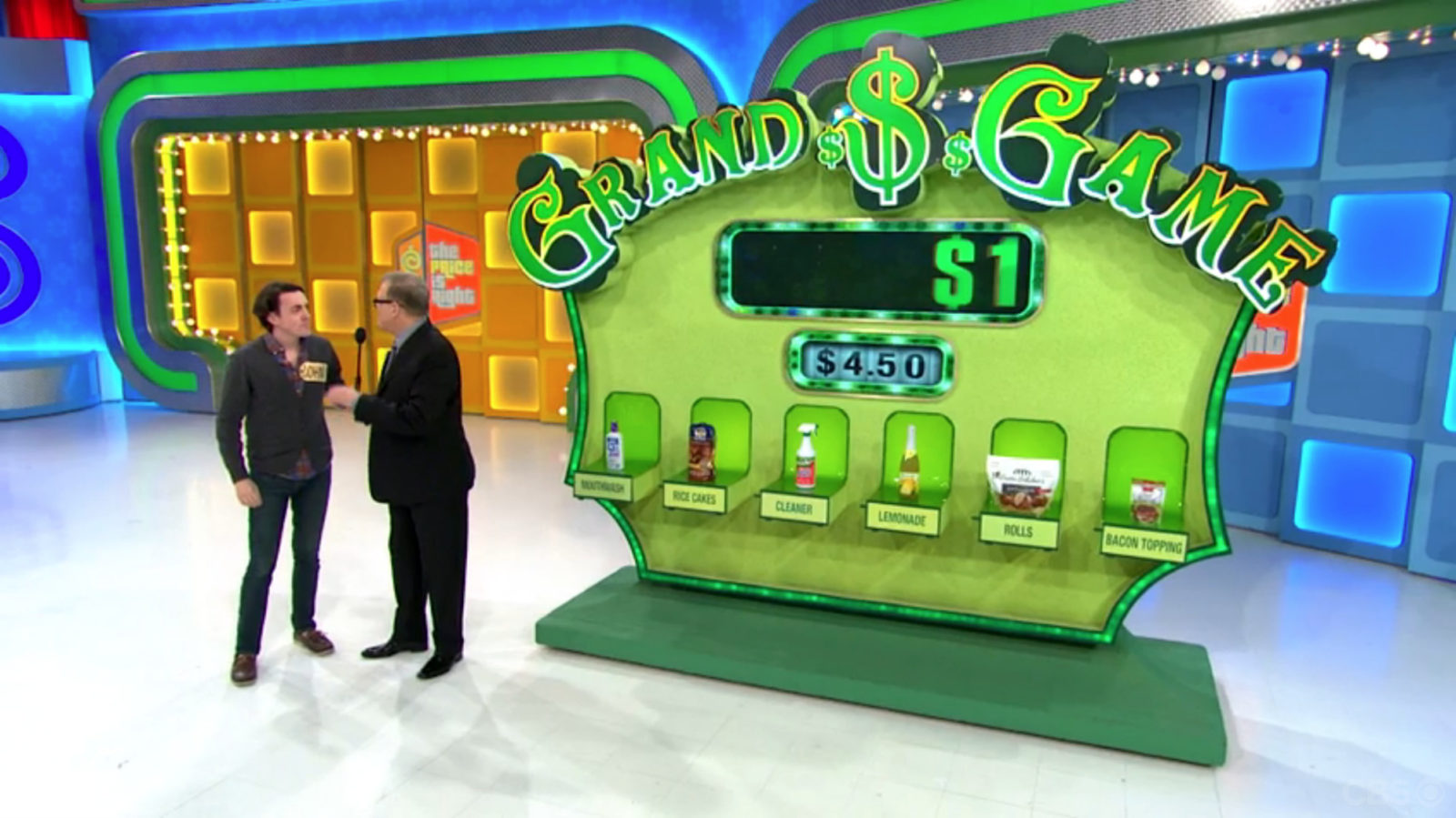 Grand Game on The Price Is Right game show