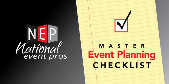 Master Event Planning Checklist