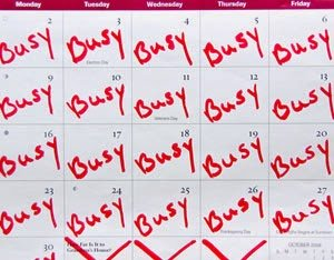 fully booked calendar