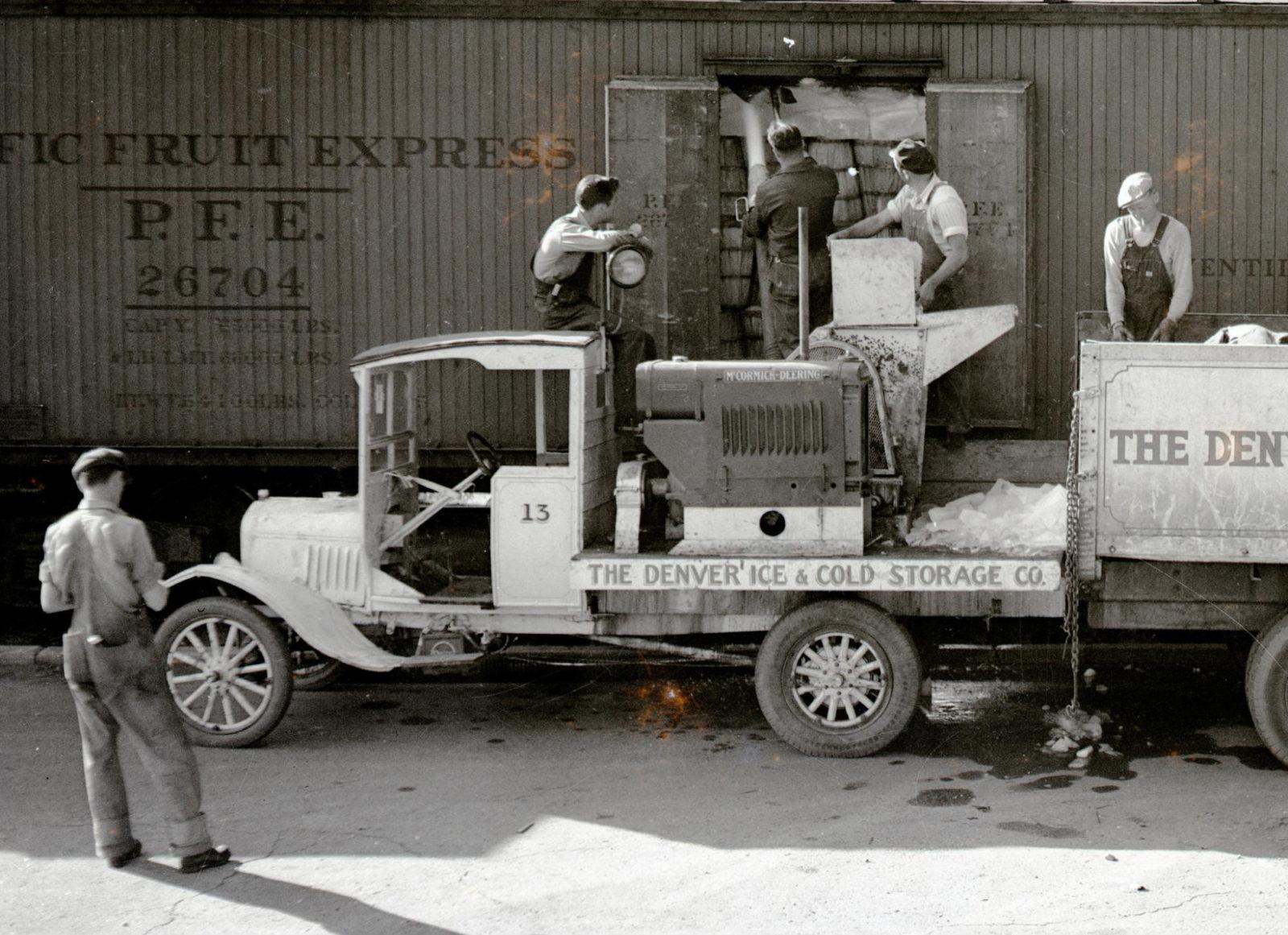 nostalgic photo of a business