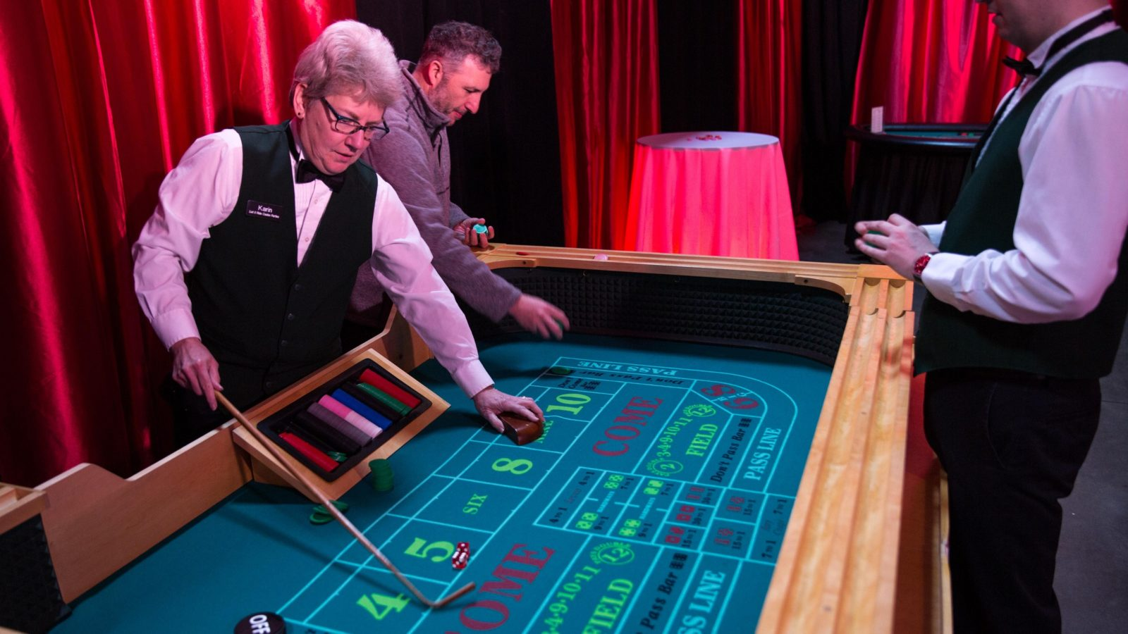 Craps Table Rental National Event Pros