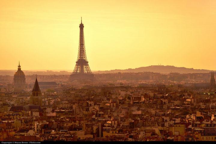 Creative Event Menus: A Night in Paris