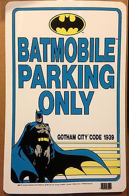 """""""Batmobile Parking Only"""" sign"""