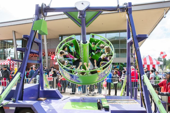 San Francisco Mechanical Carnival Ride Party Rentals