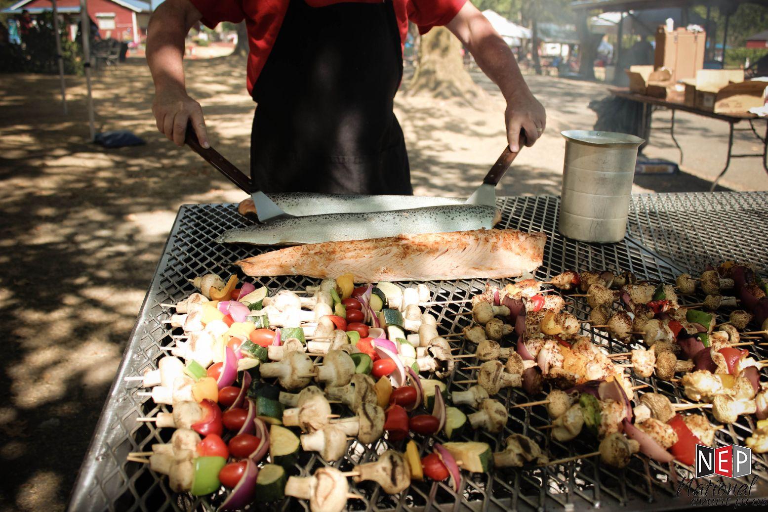 Vasa Park grill