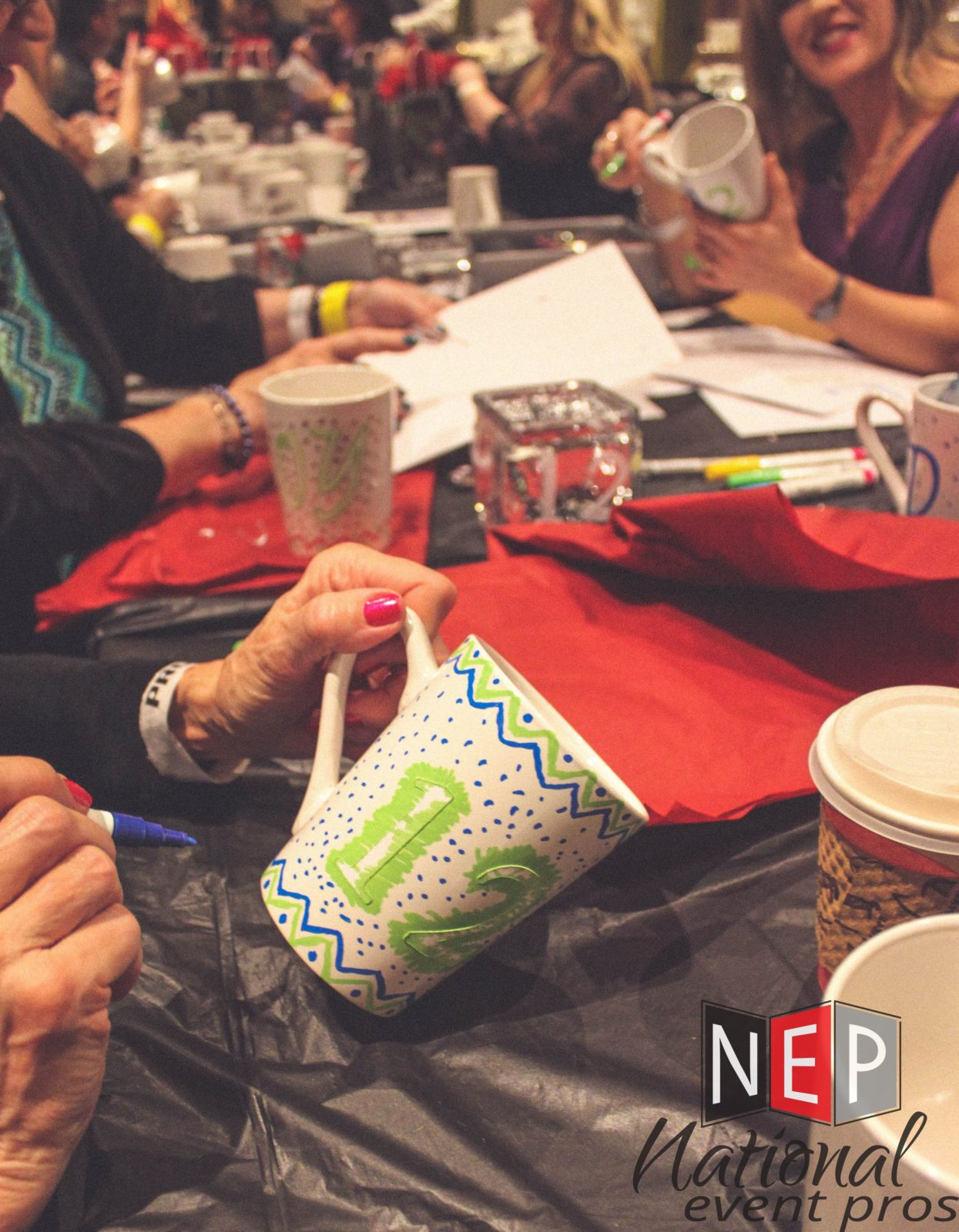 Custom Arts and Crafts Event Activity