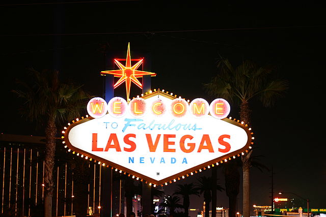 """Welcome to Fabulous Las Vegas"" sign"