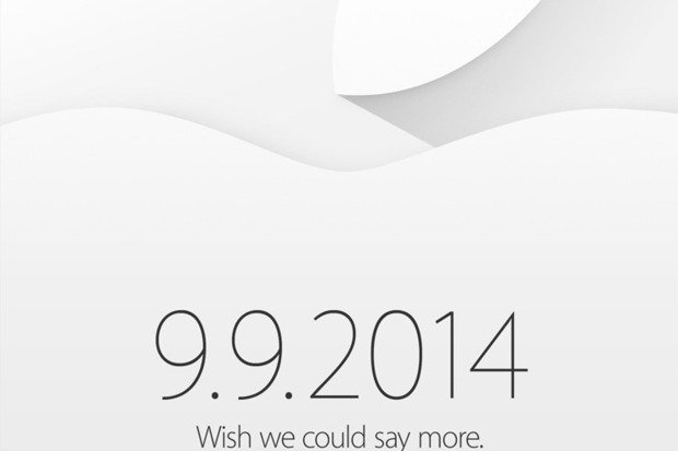 landing page for Apple marketing event