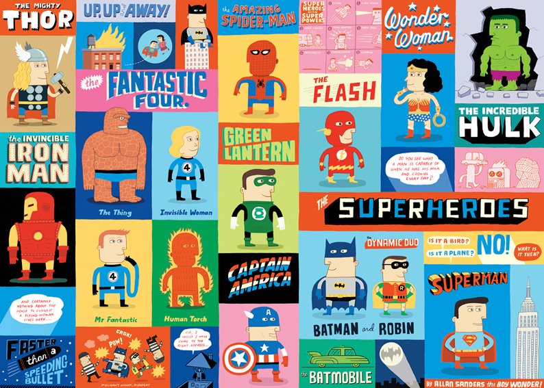 Creative Event Themes: Superhero Party — National Event Pros