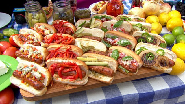 reinvented traditional picnic foods