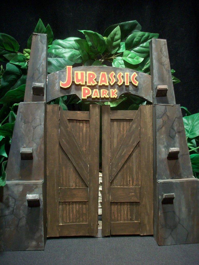 Jurassic Park decorations
