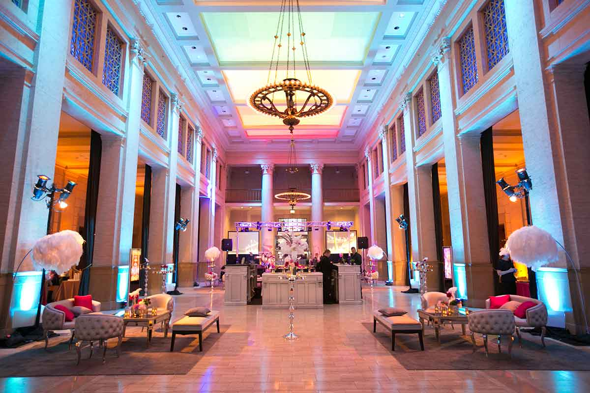 The Bently Reserve event venue in San Francisco