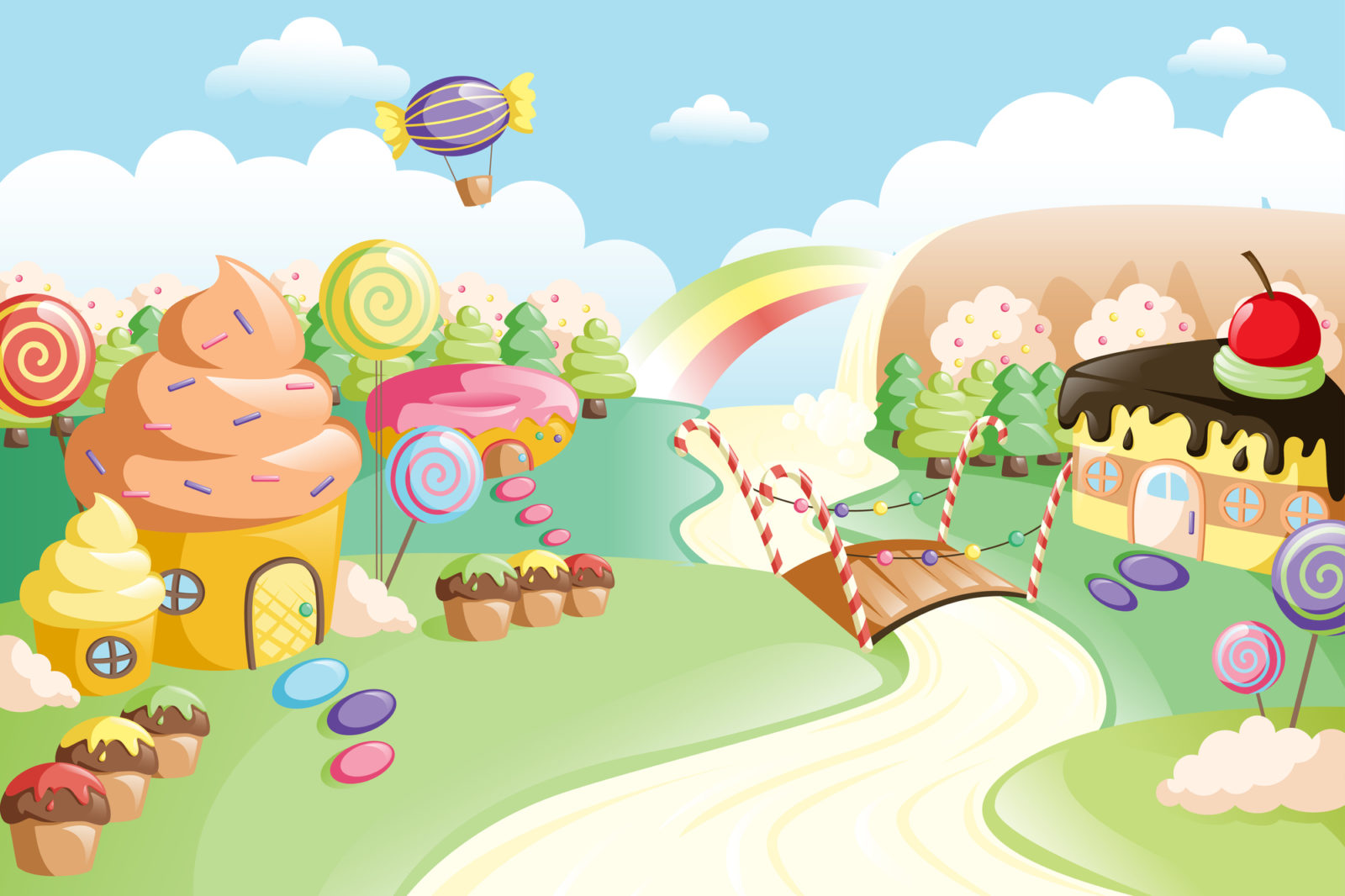 Candyland theme for events