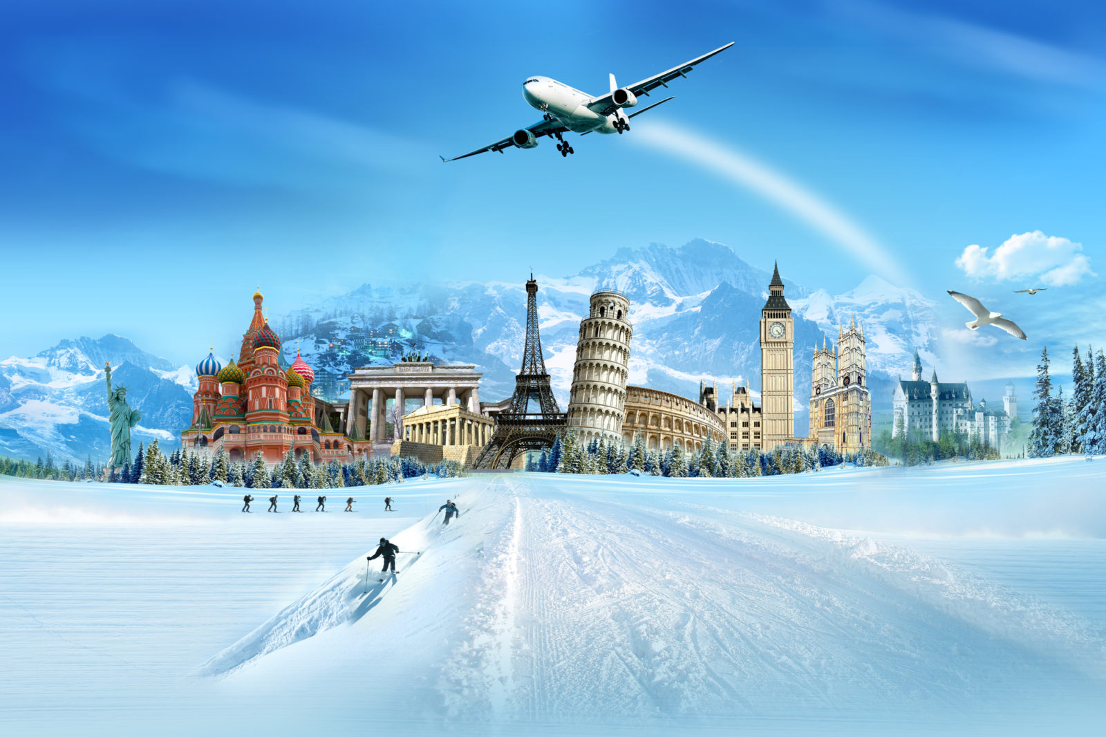 Travel the World themes for events