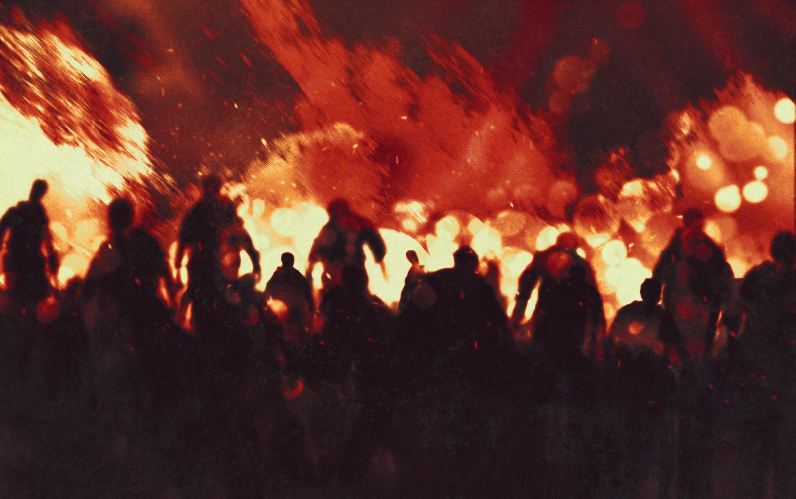 Zombie Apocalypse theme for events