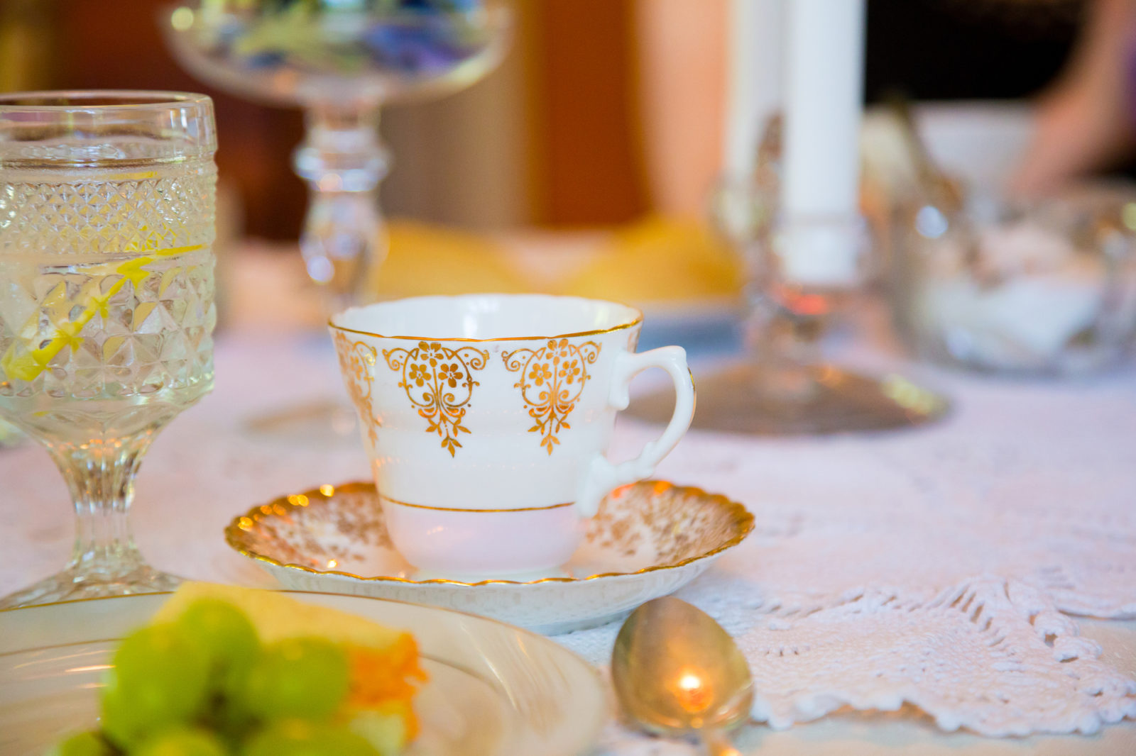 Formal Tea Party theme for events