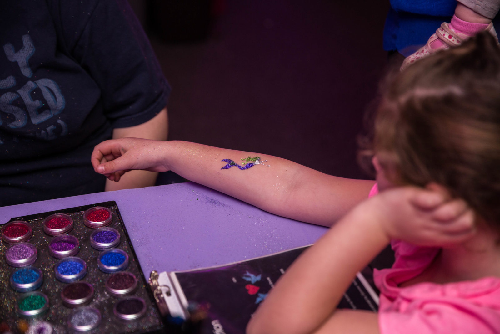 Glitter Airbrush Tattoo Artists