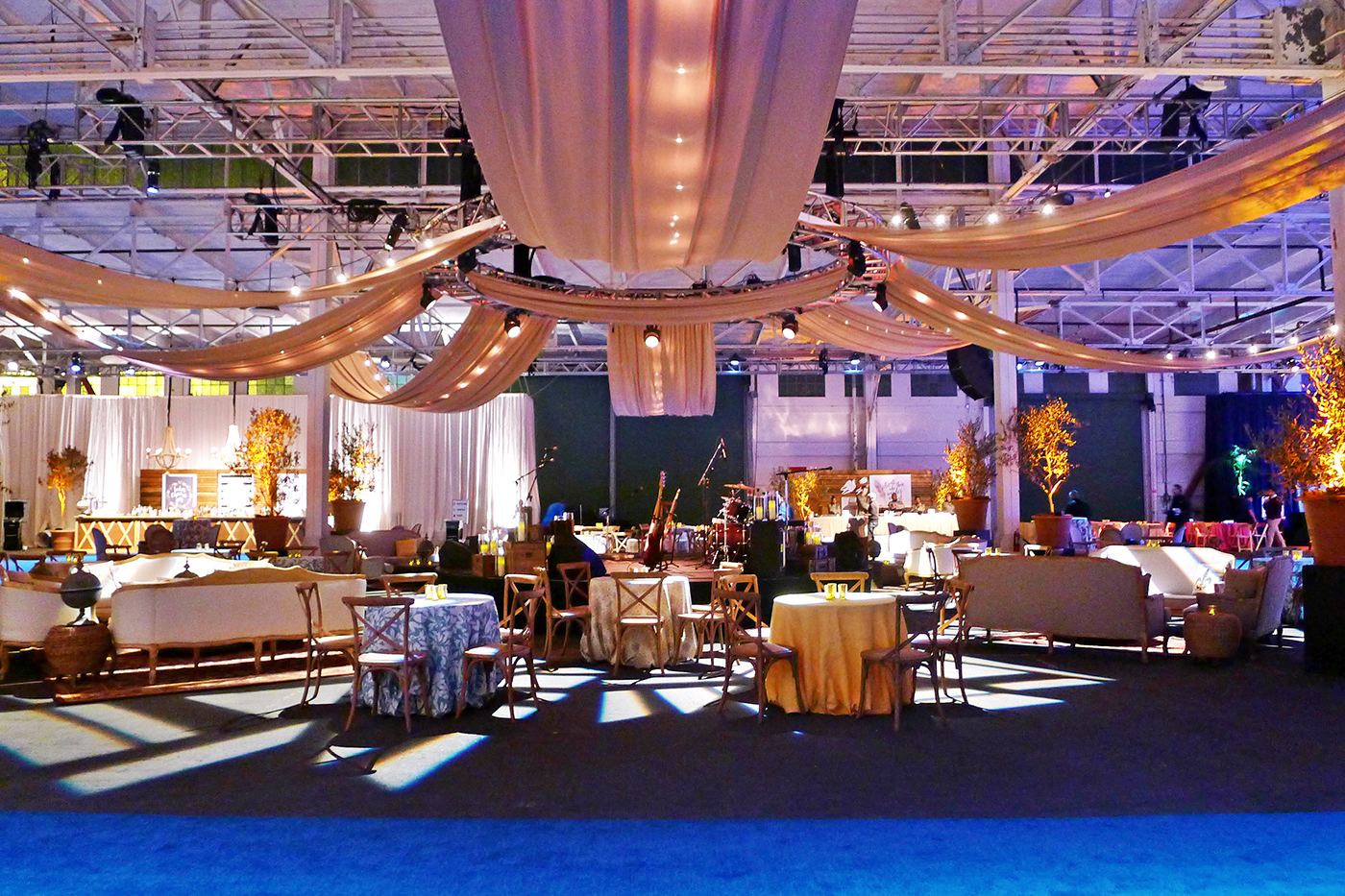 Pier 48 event venue in San Francisco