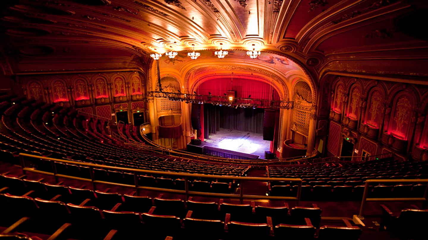 The Warfield Theatre event venue in San Francisco