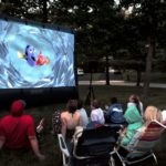12′ or 20′ Outdoor Inflatable Movie Screen