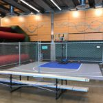 Portable Basketball Court