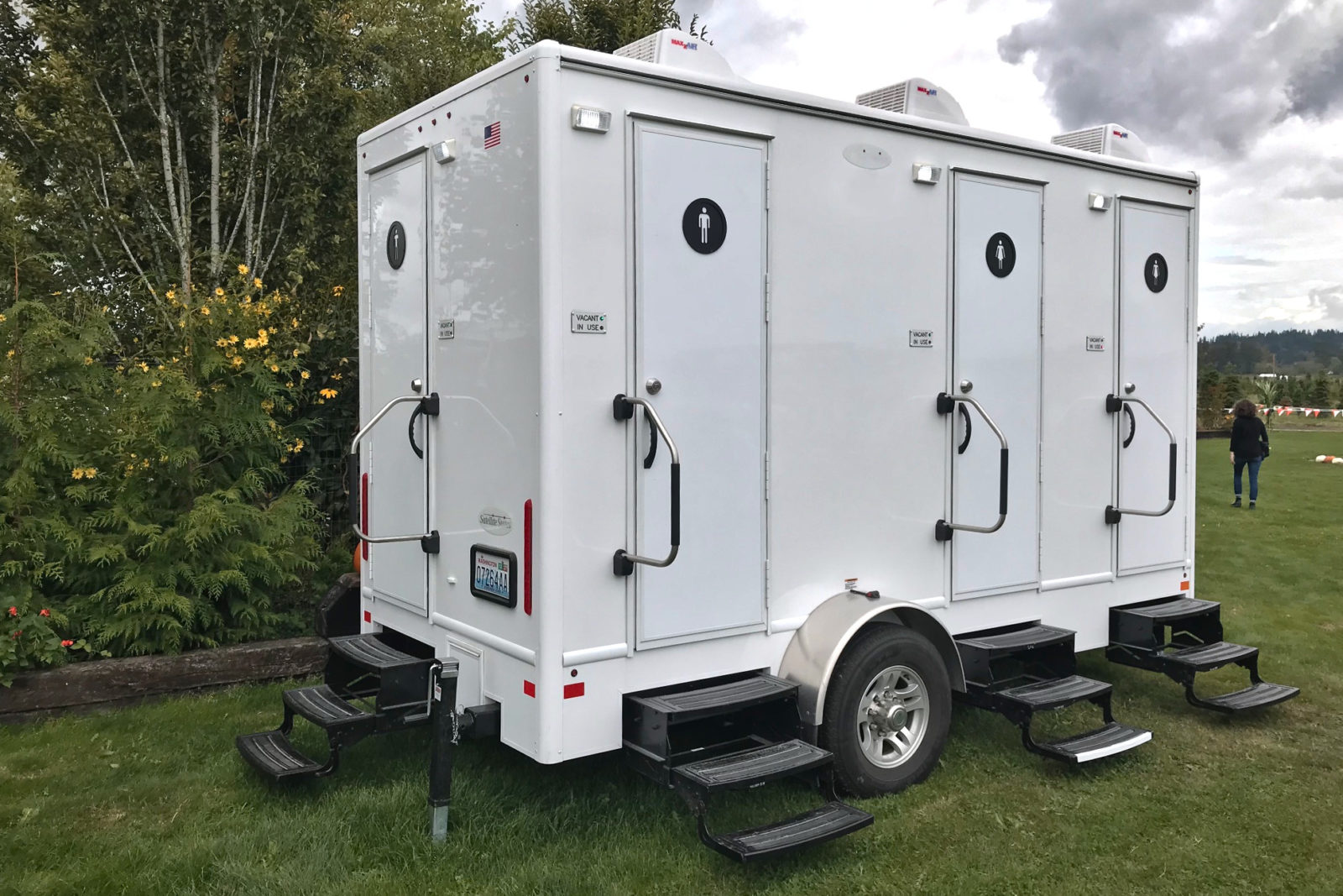 Portable Restroom Trailer Rental National Event Pros - Bathroom trailer rentals