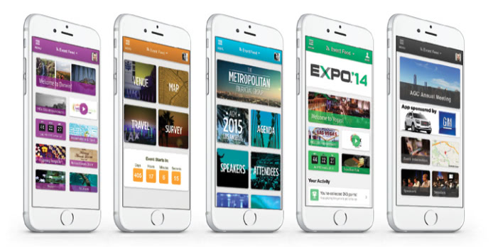 customized event apps on iPhones