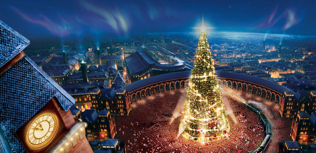 The North Pole in The Polar Express