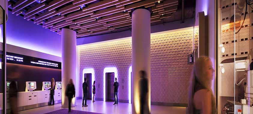 The Yotel in New York