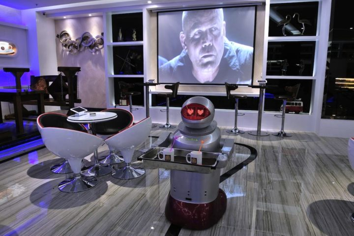 Hologram Teleconferencing and Other Insane Hotel Technology