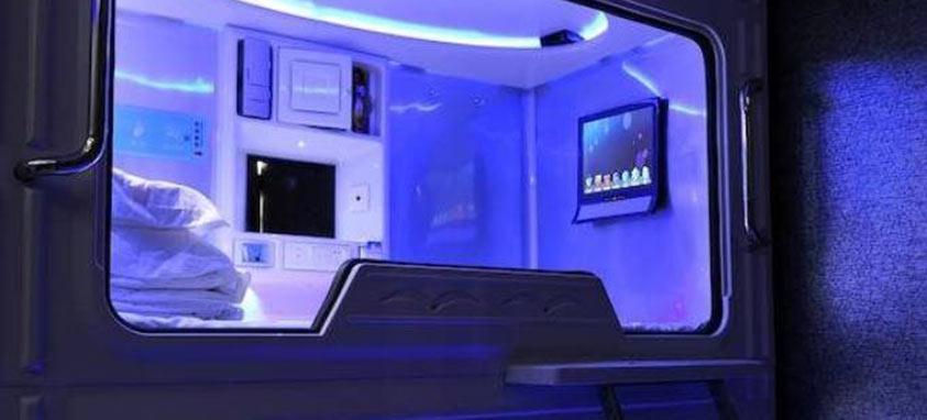 Pengheng Space Capsules Hotel in Shenzhen