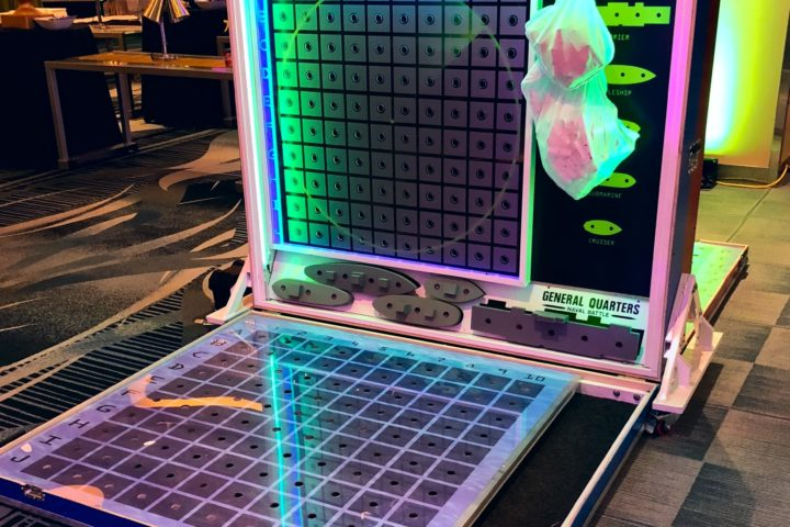 Giant Battleship - LED Glow Game